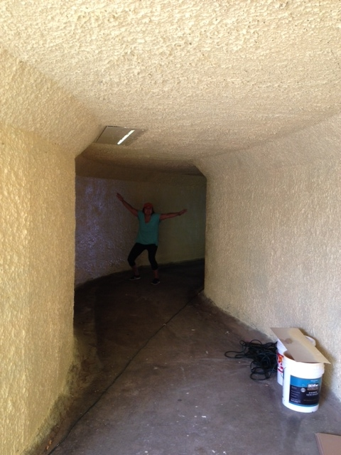 beach tunnel painting in progress 3.JPG