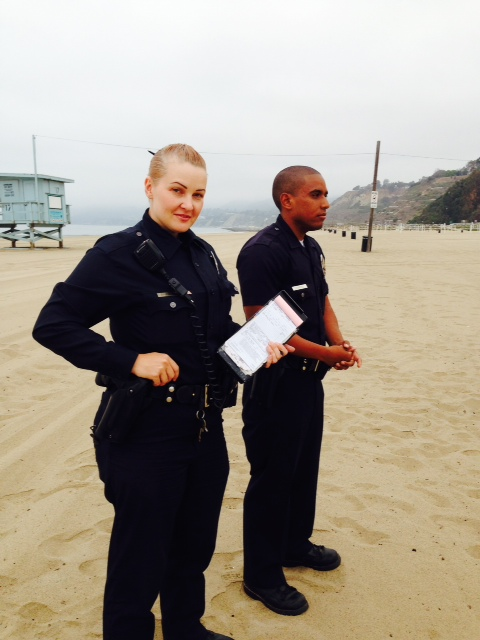 Officers Brennan and Harris