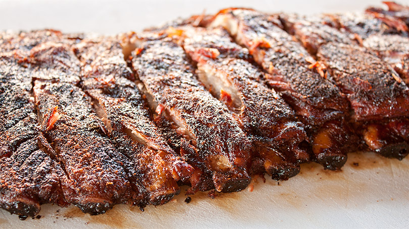 Hickory Smoked Pork Spare Ribs