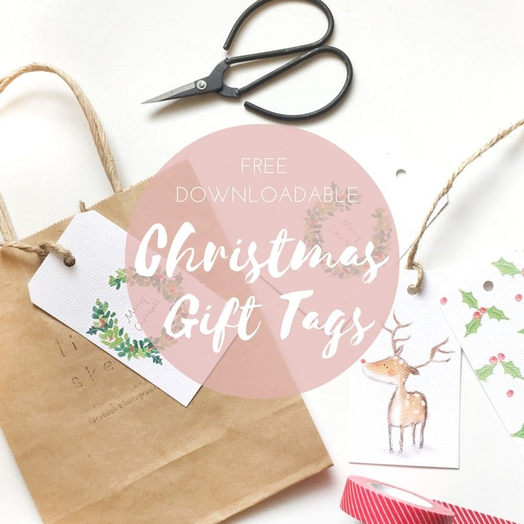 THE SECRET TO EASY DIY CHRISTMAS GIFT WRAPPING -Blog- Little Sketchy