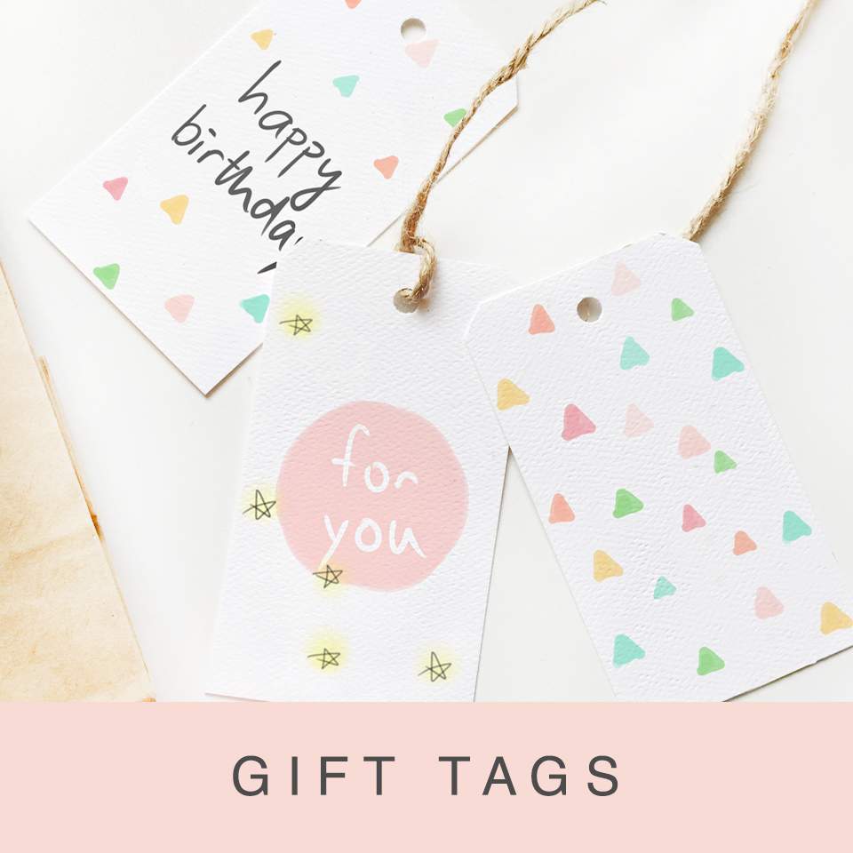 free printable gift tags for birthday