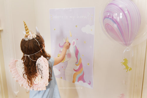 Pin The Horn On Unicorn Printable