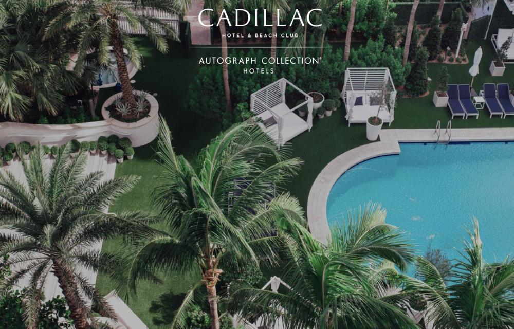 Cadillac Hotel & Beach Club, Miami Beach