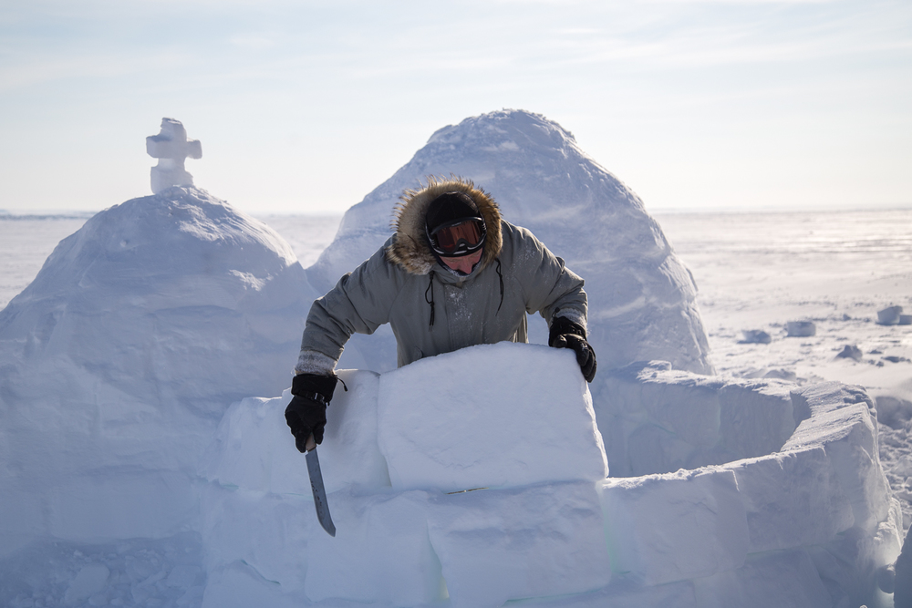 Youth Revive Igloo Building in Kugluktuk,  Nunatisaq News , 2015