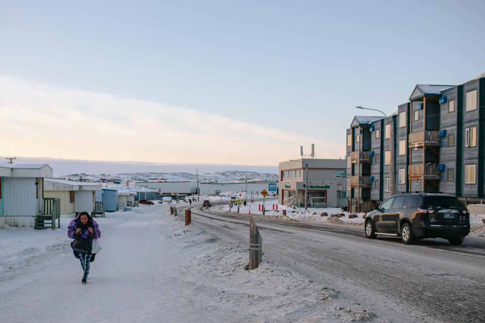 Streets of Iqaluit -