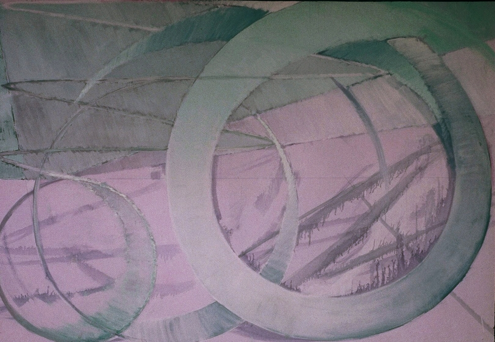 77 X 86 Oil on canvas