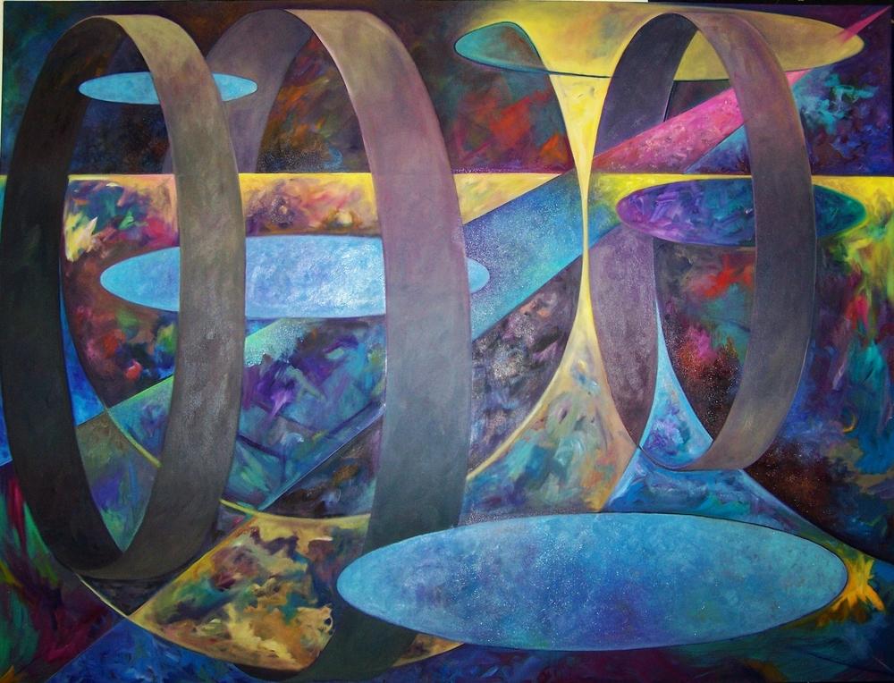66 X 75 Oil on canvas