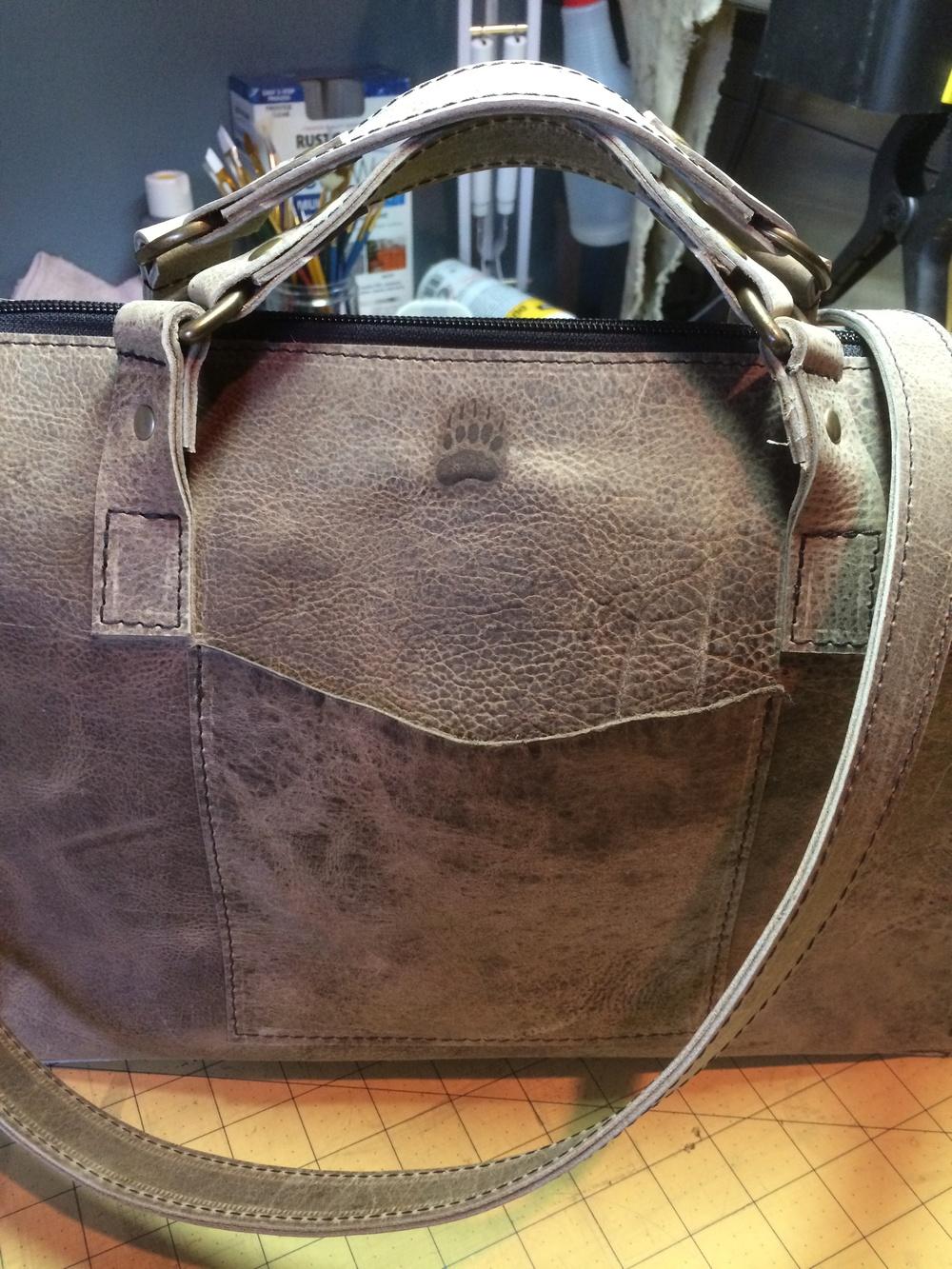 Filbert Bag Front Paw Brand.JPG