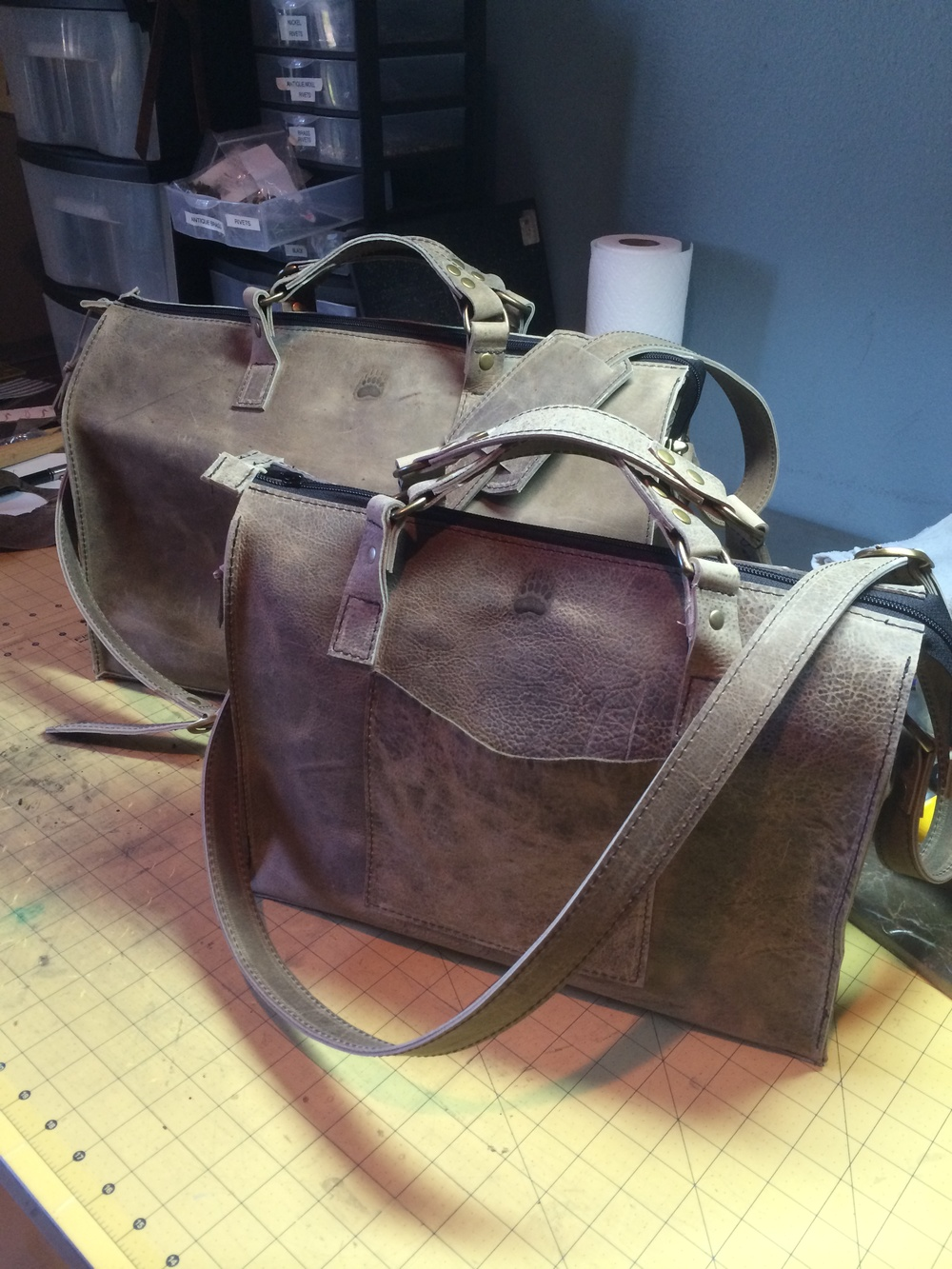"""""""Filbert Style"""" Brief and Small Weekender"""