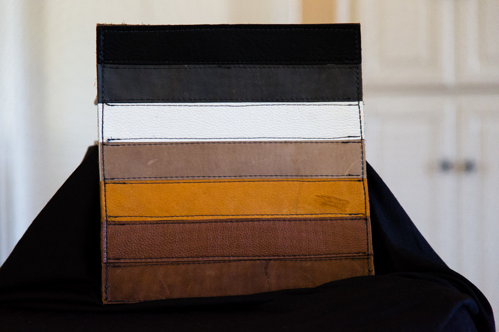iPad Sleeve with Bear Flag front