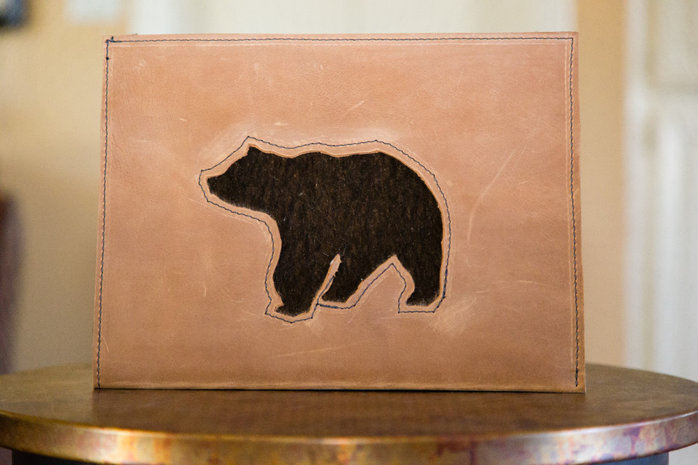 """Bear"" iPad Sleeve"