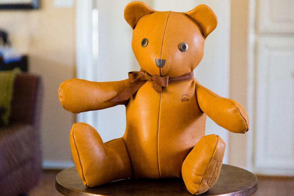 Handmade Classic Leather Bear