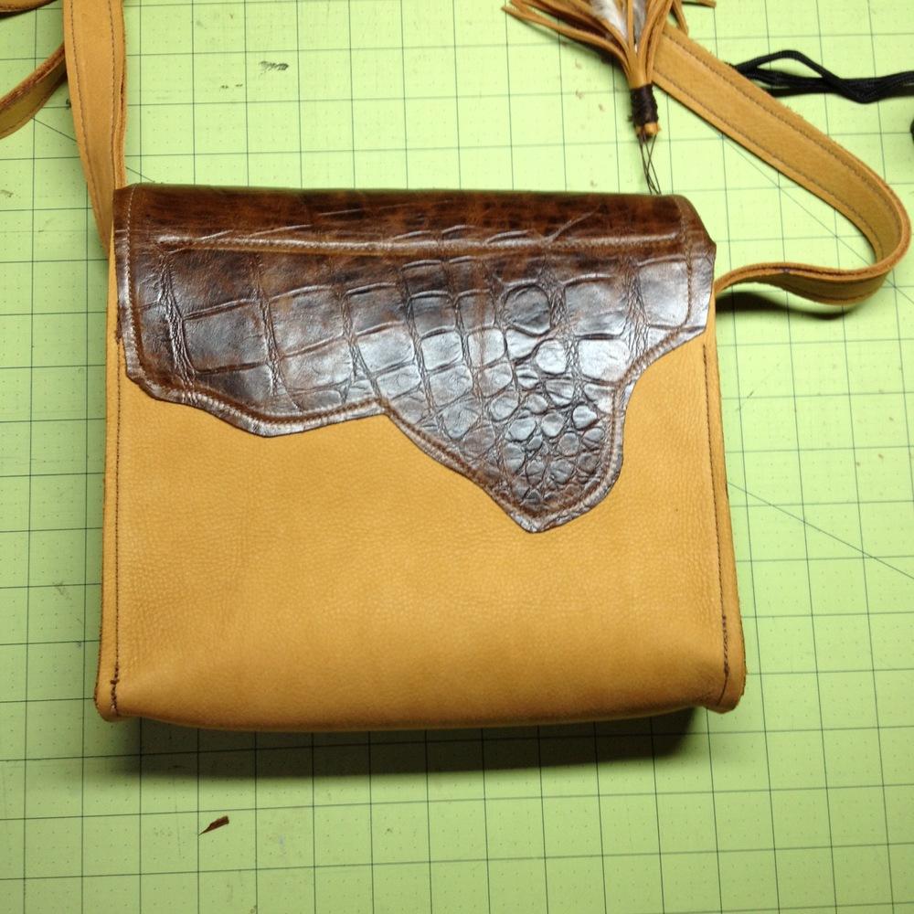 The Carolina Handbag-rear view