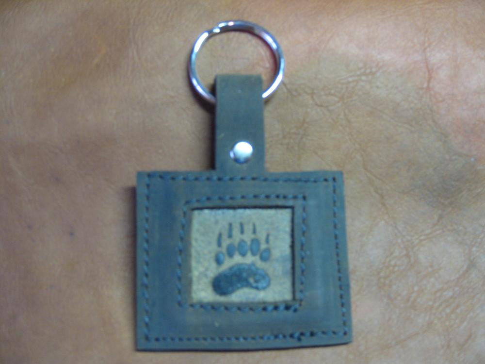 Bear Paw Keychain