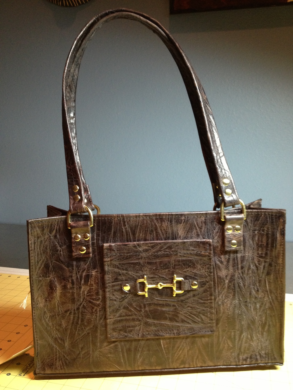 Equestrian style Handbag