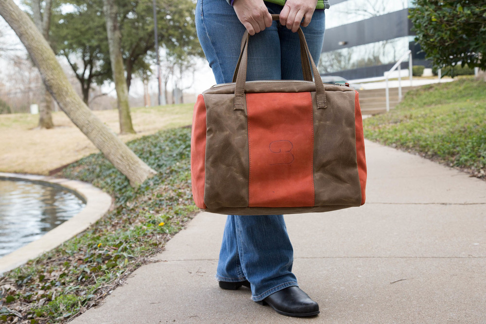 Canvas \ Leather Duffel