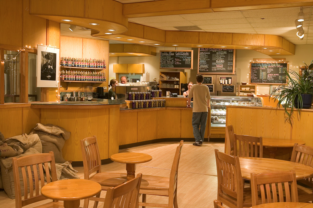 Fairbanks, Alaska main location    Alaska Coffee Roasting Co. has been part of the Fairbanks community for more than two decades. We roast coffee daily in-house and sell it by the pound and prepare a wide array of specialty coffee drinks. We specialize in Estate Varietals from around the world. We have a full bakery, producing made-from-scratch pastries and pizzas every day. A great place to meet friends, go out on a date, or even hold a business meeting.
