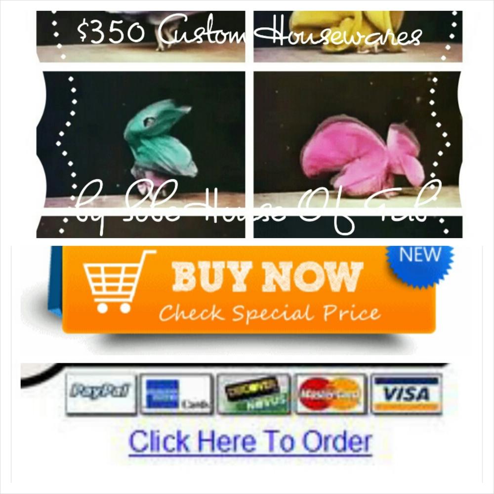 $350 Custom Designed Housewares