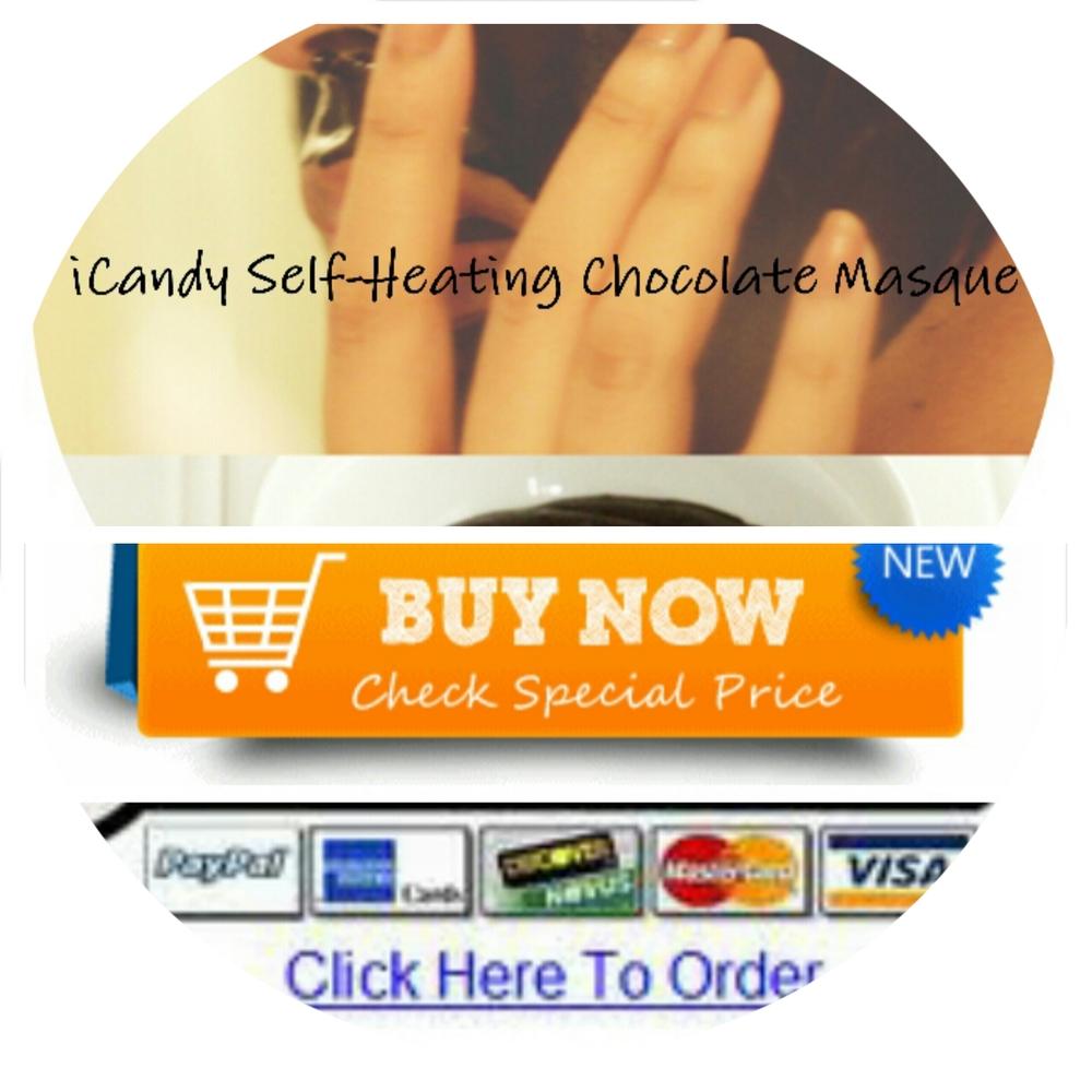 iCandy Self-Heating Chocolate Masque