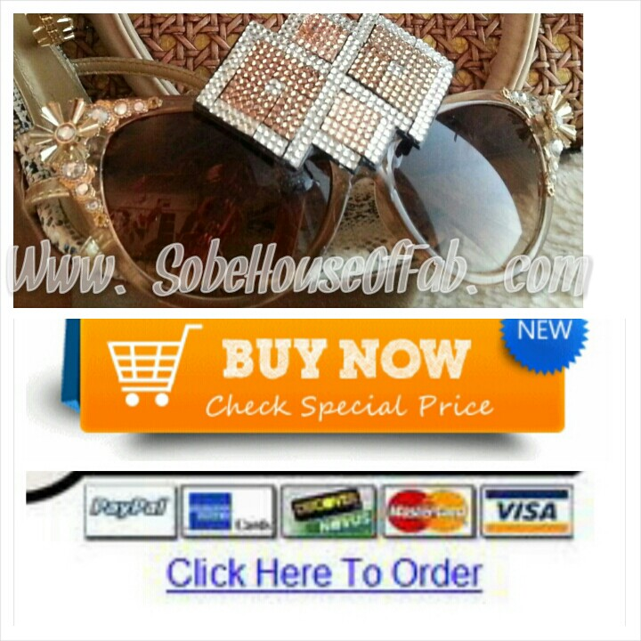 Frosted Brown Sugar PopTarts Sunglasses