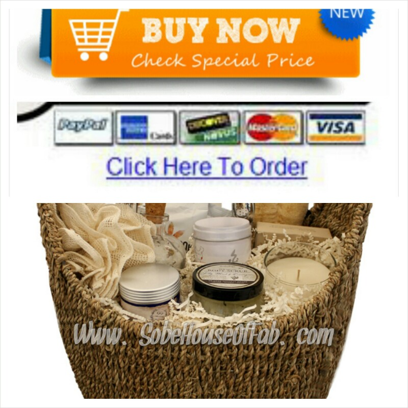 iCandy Spa Treatment Gift Basket