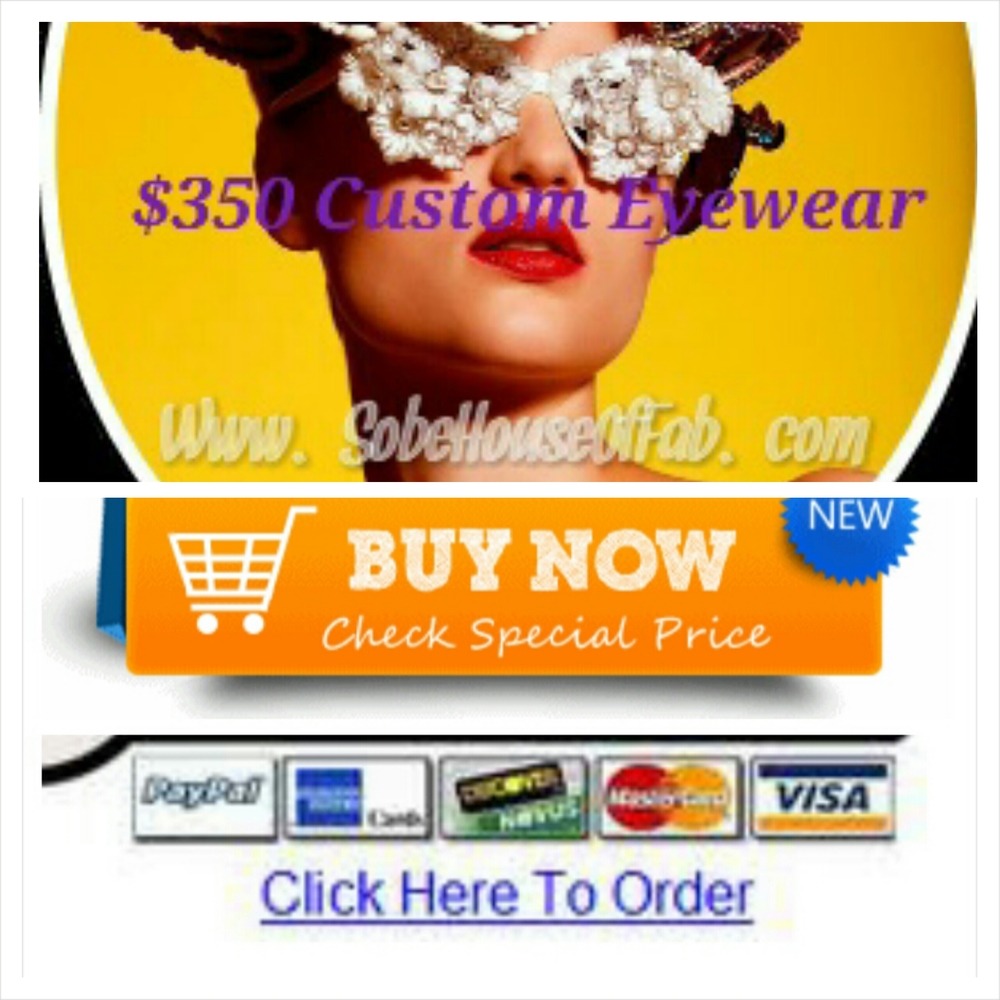 $350 Custom Designed Eyewear