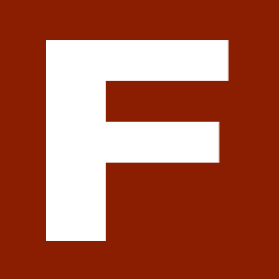 Logo for F!RE magazine.