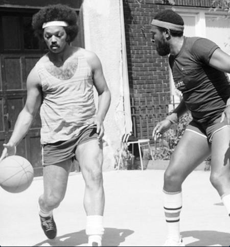 One on one with Jesse Jackson and Marvin Gaye.