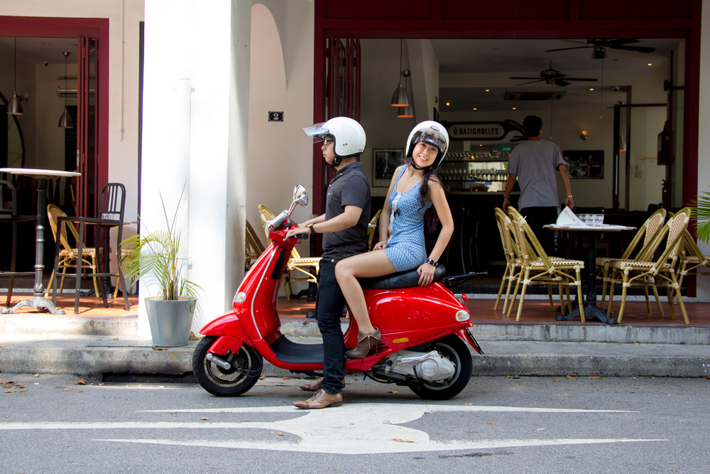 Ditch Two Wheels,  Add a Buddy   And you'll have yourself a fun way to get around town