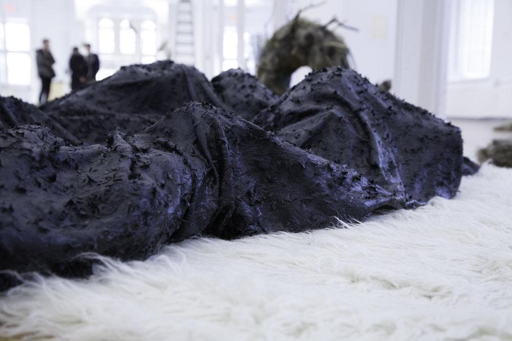 (Wandering the) faux fur marsh. - Grey Nuns, Montreal 2016
