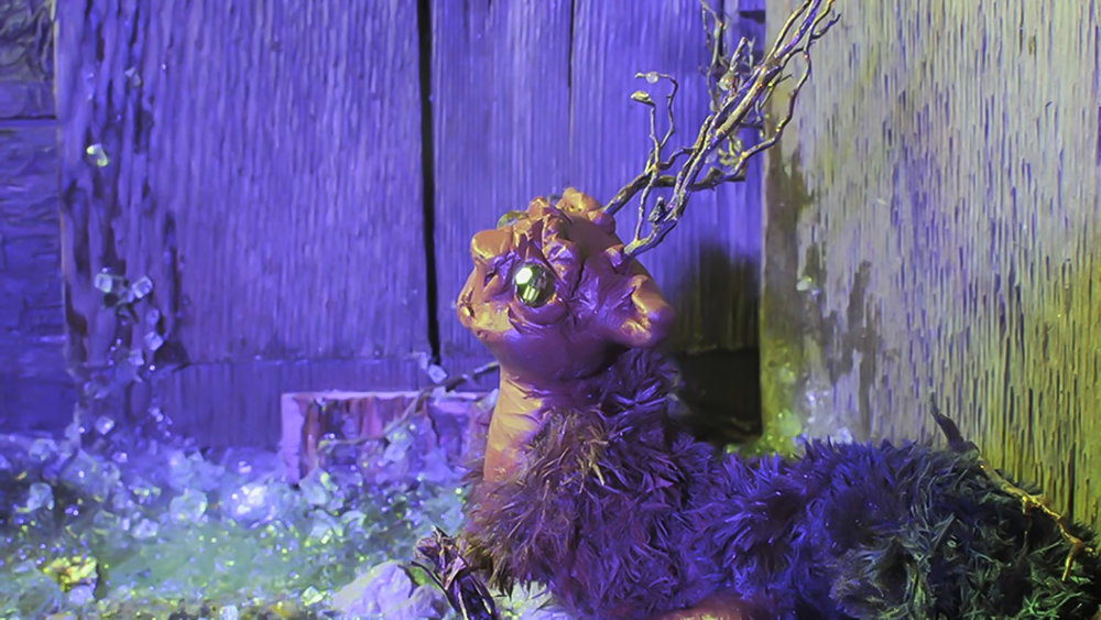 Uproots - claymation & stopmotion, 2015