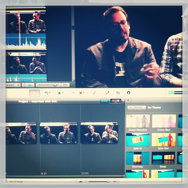 #imovie #ftw want to see what this little film project is about… We'll tease you on Thursday  (at BrooklynONE productions)