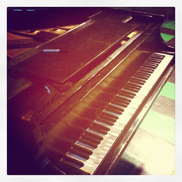 The magic keys. My Brother George #rehearsal #bkONE