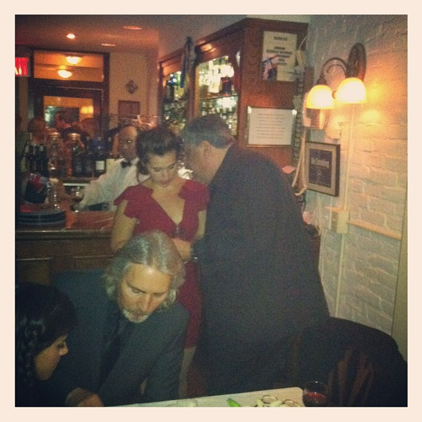 Vincent Pastore and Candice … After party #italianbred