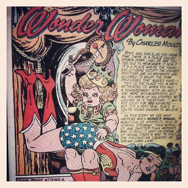 Naughty Wonder Woman #somelikeithot #lastdaysofthebraveandthebold #d3c
