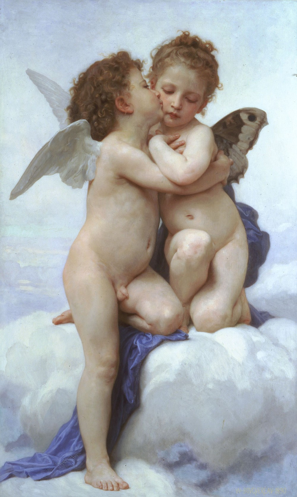 William Adolphe Bouguereau's 'Love and Psyche'