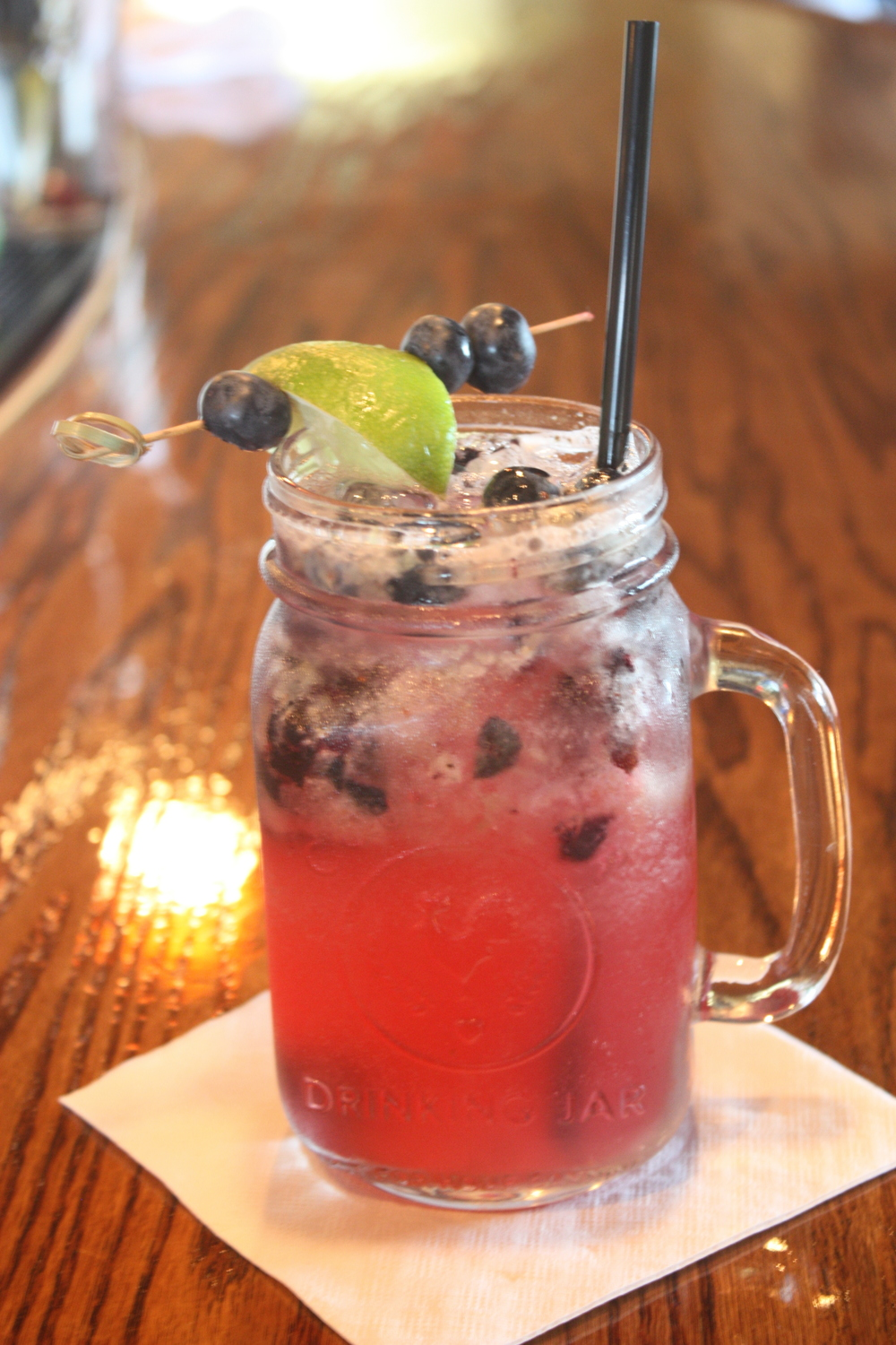 Blueberry Rumshine Cobbler
