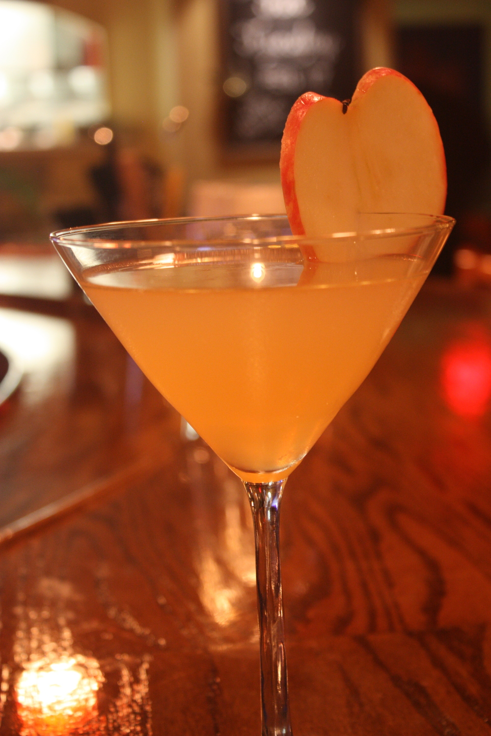 Natural Apple Martini