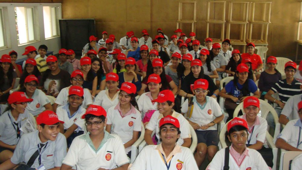 A few of our 400 Health Scouts in Mumbai.