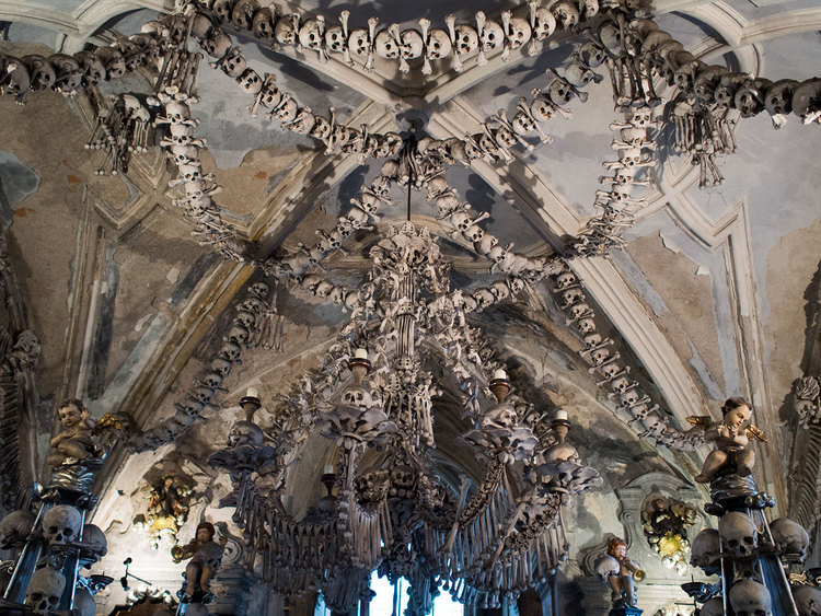 Prague day 3 bones bones where is my tomato bone chandelier aloadofball Image collections