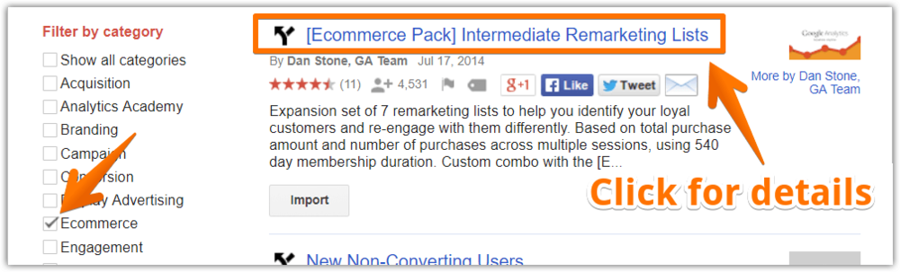 "Many of them are ""packs"" which contain multiple audiences that can all work together."