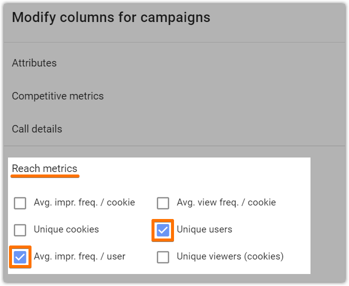 Add reach metrics to AdWords columns 01.png