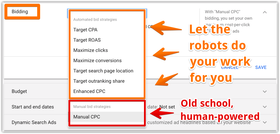 AdWords automated bid strategies and manual bid strategies 01.png