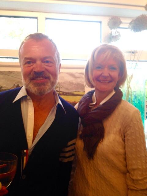 Graham Norton and Ruthie