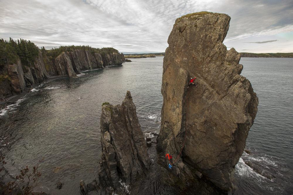 Sea Stack Climbing