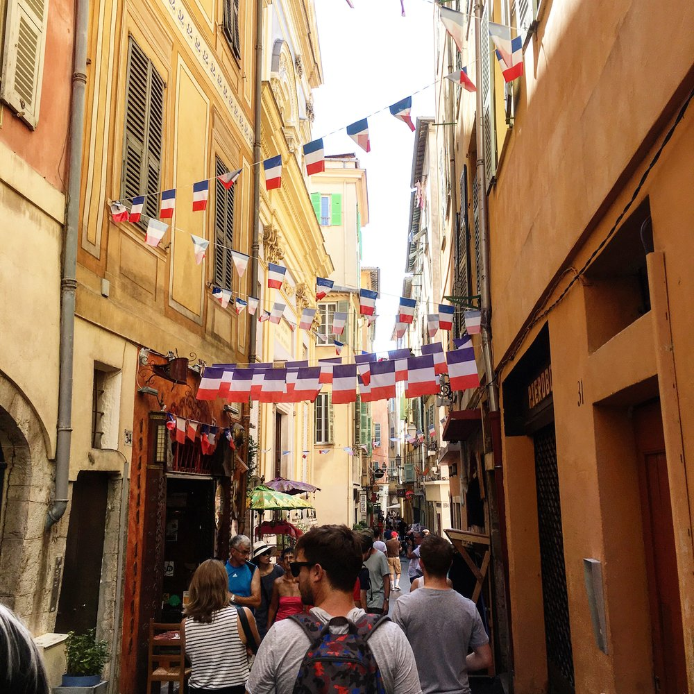 Take in the sights, sounds and flavours of Nice's Old Town.