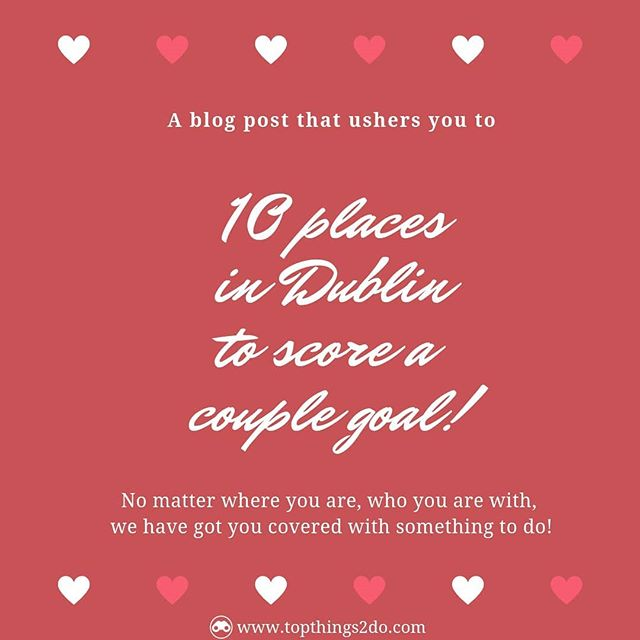 There are all kinds of things to do in Dublin with your soulmate! Check link in bio! ... 1. Escape Game 2. Footgolf 3. Climbing walls 4. Whiskey Tasting 5. Photo walk 6. Life drawing 7. Sunset Kayaking 8. Skiing/Snow boarding 9. Viking Splash 10. Food trails ... #activitiesforcouples #couplesgoals #valentines #valentinesday #activitiesindublin #fun #funactivities #loveireland #dublin #foodie #coupleactivities #couplegoals❤ #dublinfortheweekend #bestofireland #TT2D #topthings2do #blogposts #blogging #irelandblogs #kayaking #winetasting #foodtrails #puzzles #funthingstodoindublin #climbing #dublinireland #dublinfood #corporateteambuildingactivities #coupletravel #couplephotoshoots