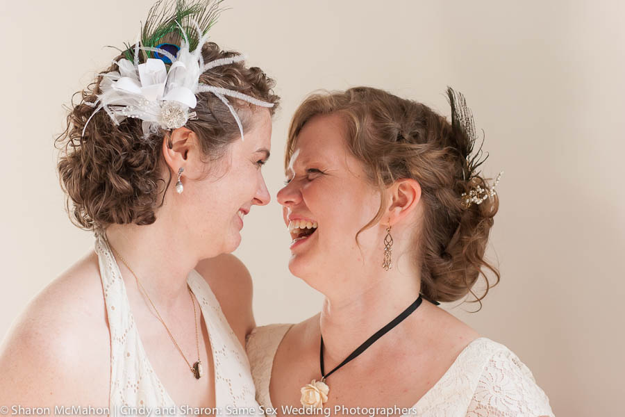 Two brides - same sex wedding photography