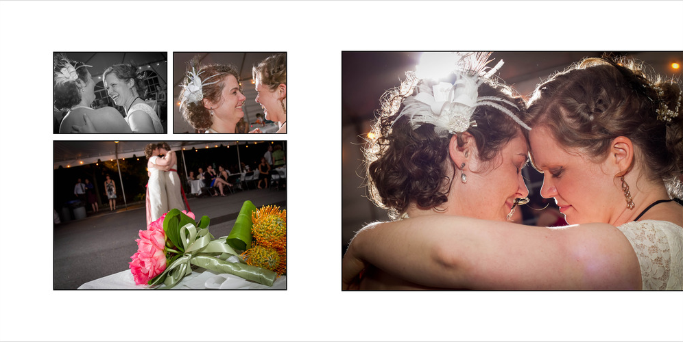 Lesbian wedding in NY