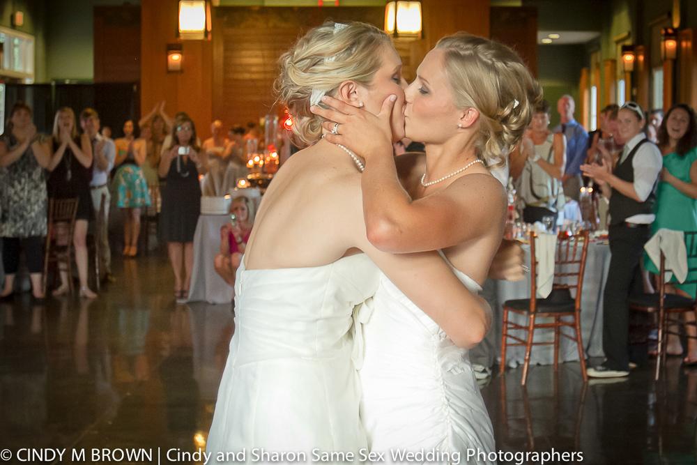 Lesbian Wedding at Piedmont Park